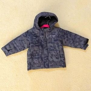 Columbia baby boy camo winter jacket